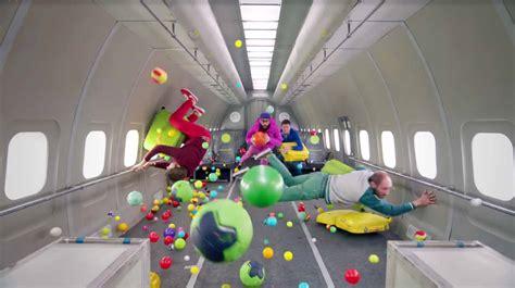 zero gravity ok go in zero gravity