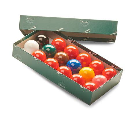 Premier Set aramith premier snooker sets with 10 reds