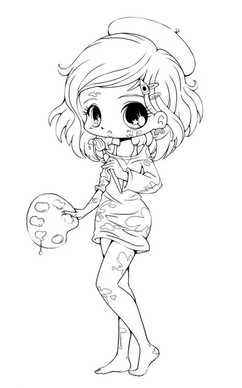 1000 Images About Art Draw On Pinterest Anime Chibi Coloring Pages Free
