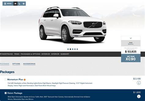 volvo truck configurator 2015 volvo xc90 configurator goes online autoevolution