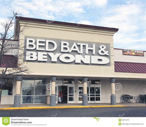bed and bath store bed bath beyond editorial stock photo image 22013273