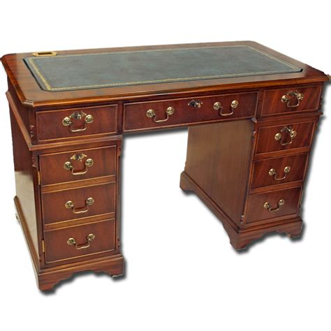 Reproduction Computer Desk 4 X 2 Quality Reproduction Regency Computer Desk