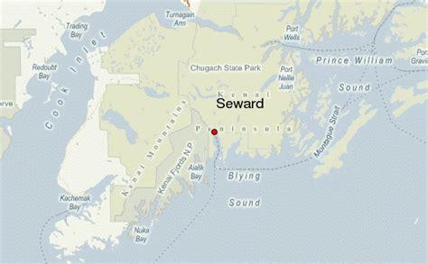 us map seward alaska city of seward ak map images