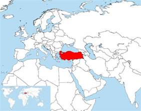 Turkey World Map by Turkey And Its Close Environs Map Turkey Physical