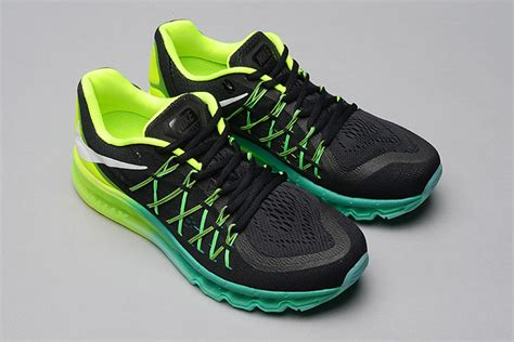 Nike Air Max 2015 Blackyellowred P 1105 by Nike Air Max 2015 Mens Shoes Air Cushion Black Green