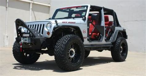 No Door Jeep Custom Jk Unlimited 2011 Jeep Wrangler Jk Unlimited