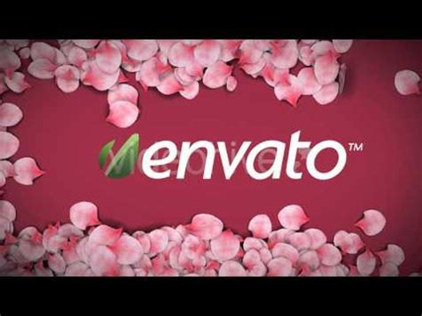Falling Flower Petals After Effects Template Free Falling Flower Petals After Effects Templates From Videohive Youtube