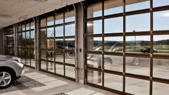 commercial glass doors garage doors