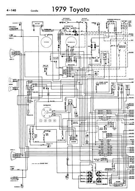 toyota corolla wiring diagram toyota free engine image