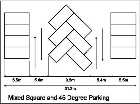 car parking plan with dimensions plan with the car parking size of car parking space google search m plan