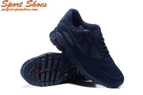 Rasio Mesh Sneakers Navy 2016 nike air max 90 ultra wmns sneakers mesh navy blue