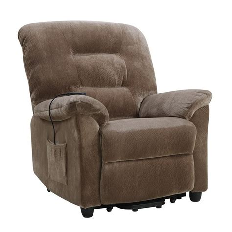 Power Lift Recliners Reviews by Coaster Power Lift Recliner In Brown Sugar 601025ii