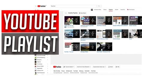 tutorial youtube kanal youtube playlists erstellen youtube kanal quot ordnen