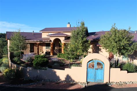 Southwestern Houses by Southwest Style Home On Acreage In Alto Area