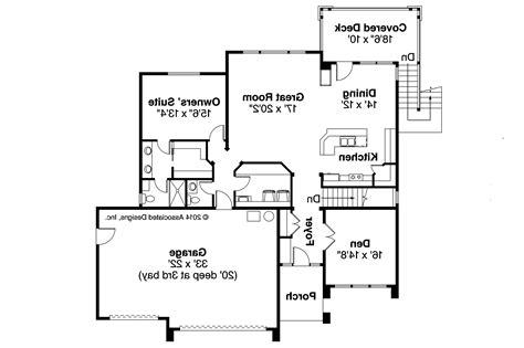 Prairie Floor Plans by Prairie Style House Plans River 30 947 Associated