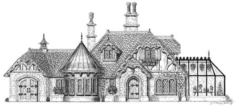 storybook cottage house plans house plan miniature pinterest