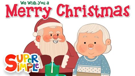 merry christmas super simple songs youtube