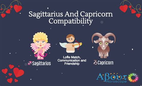 sagittarius and capricorn compatibility love and