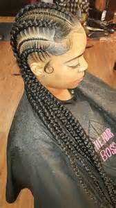 large cornrow hairstyles 25 best ideas about big cornrows on pinterest black