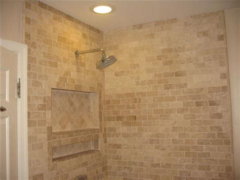 travertine bath tile