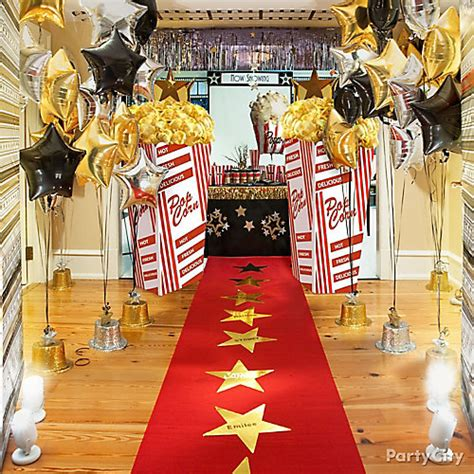 party themes red carpet hollywood party ideas party city
