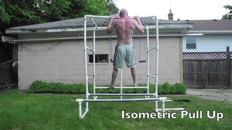 Diy Backyard Pull Up Bar 27 Types Of Pull Ups On My Pvc Gym Youtube