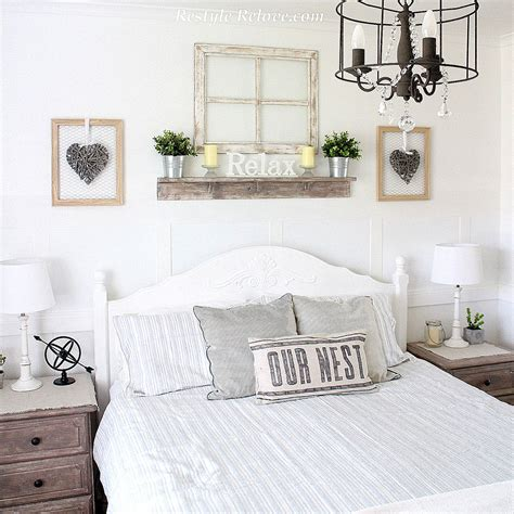 the camo shop blog rustic bedroom decorating tips from love note white rustic farmhouse master bedroom makeover