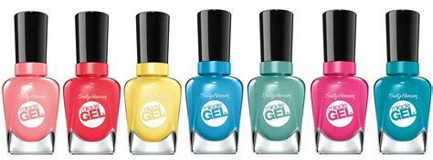 Sally hansen miracle gels for summer nail it