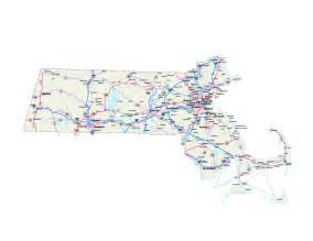 Massachusetts Road Map by Massachusetts Map Massachusetts Maps Massachusetts