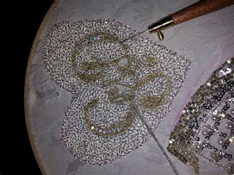 tambour beading 17 best images about tambour work on lace