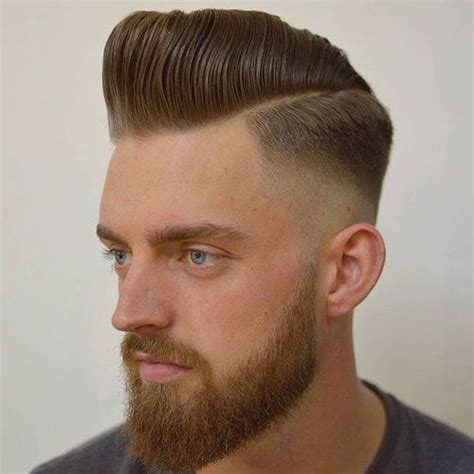 square cut mens hair style 17 best images about pompadour hairstyles and haircuts on