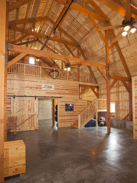 barn house interior great plains party area in gambrel barn barn homes pinterest copper wedding events and events