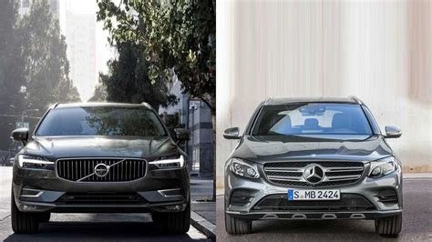 volvo xc60 vs mercedes glc 2018 volvo xc60 vs 2016 mercedes glc
