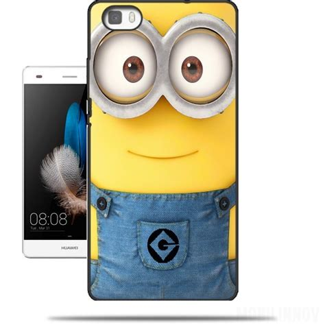 Casing Lg G6 Minions Custom Hardcase Cover Minions Hoesje Voor Huawei Ascend P8 Lite