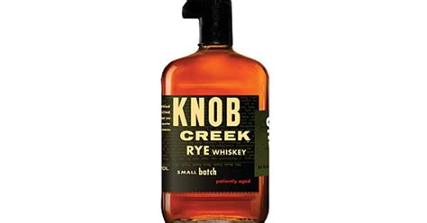 The Knob Creek by Knob Creek Rye Whiskey The 6 Best American Rye Whiskeys