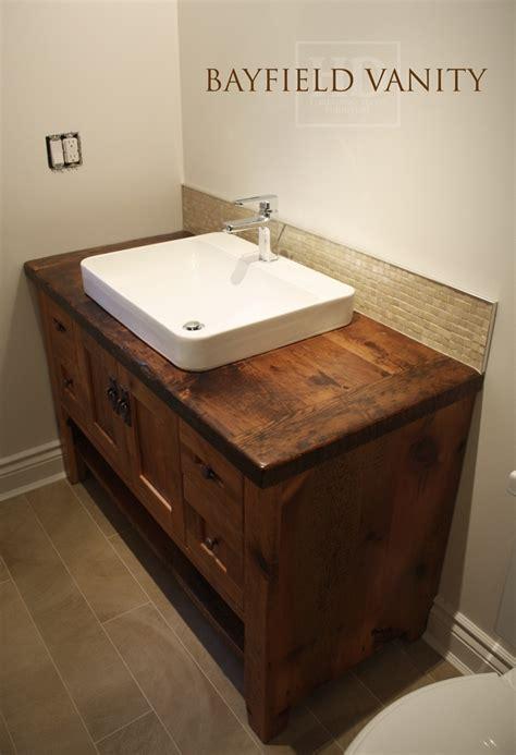 Kitchen Backsplash Height reclaimed wood furniture vanities hd threshing