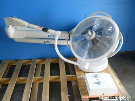 surgical lights for sale used alm prismalix dual surgical lights o r light for sale