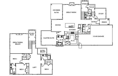 boise hunter homes floor plans the houston 3066 boise hunter homes
