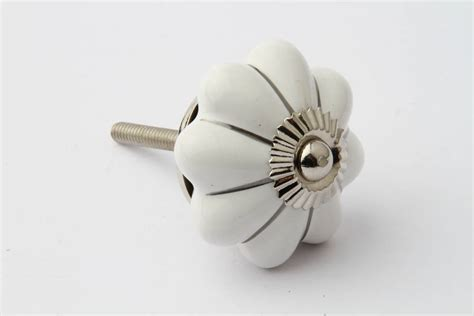 Silver Knobs For Drawers by Silver Striped Flower Drawer Knob By Grey Interiors