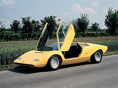 Lamborghini Lp500 Lamborghini Countach Lp500 Prototype 1971 Concept Cars