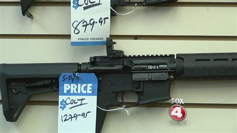 Weapons Background Check Gun Background Checks On The Rise Before Election Day Fox 4 Now Wftx Fort Myers Cape