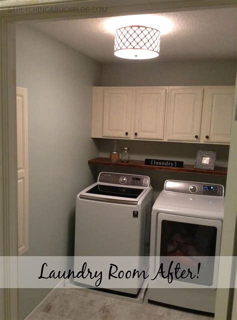 laundry room cabinets diy diy laundry room makeover a buck