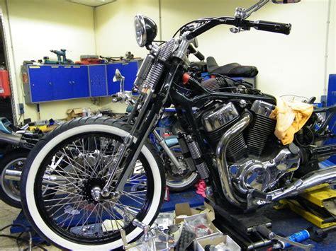 Motorrad Gabel Tuning by Springer Gabel Einbaufertig Vs 1400 Intruder Mit T 220 V