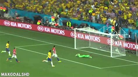 brasil 3 x 1 cro 225 cia todos os gols copa do mundo 2014