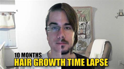 pictures of hair growth month by month after chemotherapy by people 10 month hair growth time lapse youtube