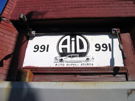 bed stuy blog aid auto supply stores bed stuy brooklyn fading ad