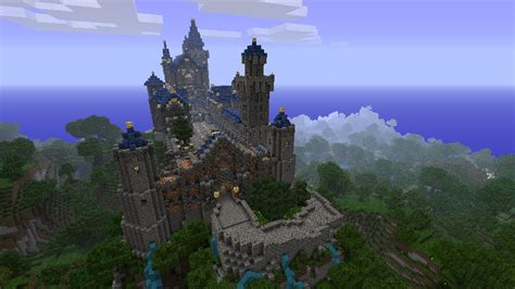 Look Up House Blueprints by Cool Minecraft Castle Ideas