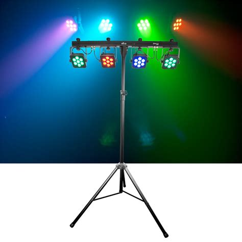 lighting system chauvet 4bar tri usb dmx rgb led wash light system pssl