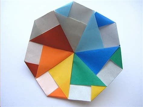 How To Make Paper Toys Origami - origami modular spinning top