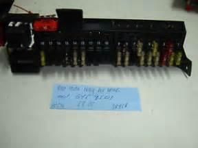 mercedes w210 e320 e430 rear trunk fuse relay box wire 001 545 95 01